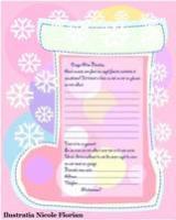 Imagine Scrisoare pentru Moş Crăciun de la o fetiţă