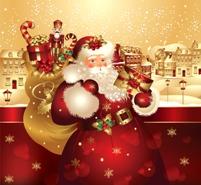Imagine Desaga lui Moş Crăciun