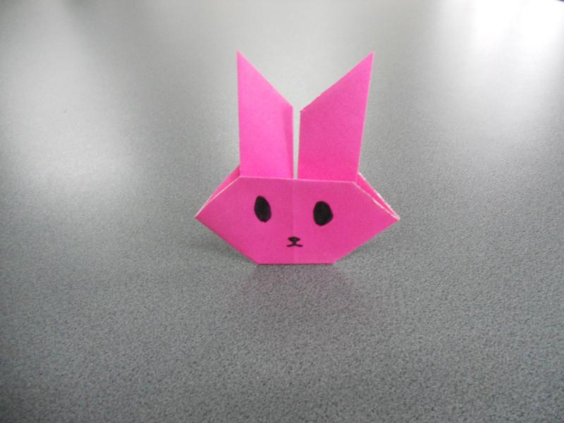 Imagine Origami Iepuras